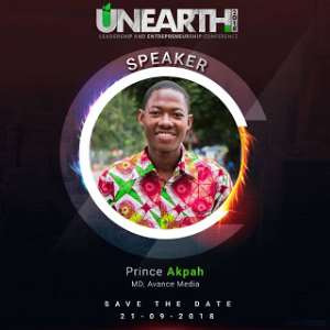 Prince Akpah, Ekow Mensah, others to speak at 2018 UNEARTH Conference