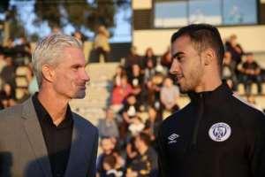 Craig Foster and Hakeem al-Araibi (image from abc.net.au)