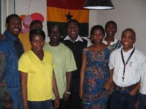 Ghanaians at the University of Bergen mark Independence Day
