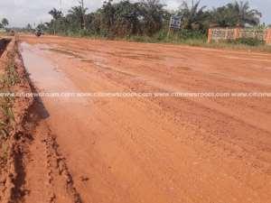Nkroful Residents Celebrate Kwame Nkrumah's Birthday With Deplorable Roads