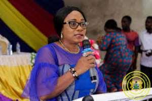 Gender Minister Begins Campaign On Eat 'Gari' And 'Konkonte' In schools