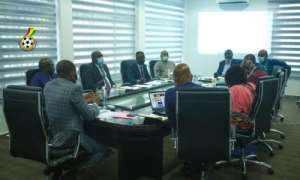 GFA Executive Council at a meeting