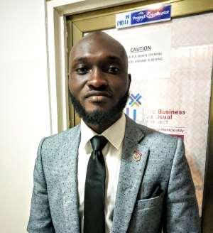 Mr. Ferdinand Osei Atuahene- HR Manager for Danerst Employment Agency