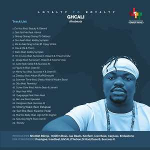 """GhCALI Releases First Album Titled, """"Loyalty To Royalty"""