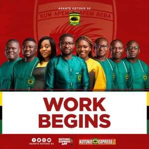 New Asante Kotoko management team