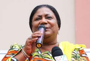 First Lady Cautions NPP Supporters In Anyaa-Sowutuom Against Voter Apathy