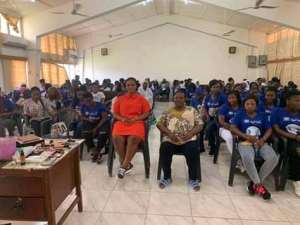 NPP Loyal Ladies offer make-up training for ladies in Ho