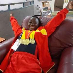 Juliana Arko Wins Four Gold Medals In Canada