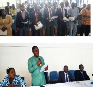 GHS Audit Committee Inaugurated In Sunyani