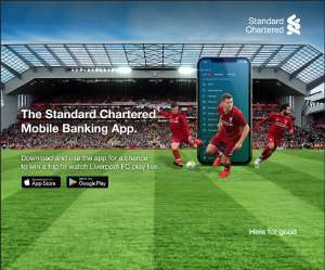 Standard Chartered Rewards SC Mobile Clients With The Liverpool FC Anfield Experience