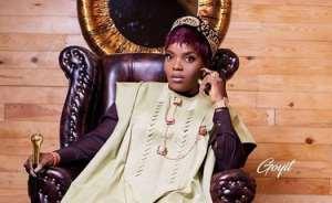 Nollywood Actress, Empress Njamah Emerges Queen of Agbada Gang