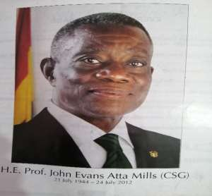 A Retrospective Observation Of The Political Tranquility That Followed Prof. Atta Mills' Death