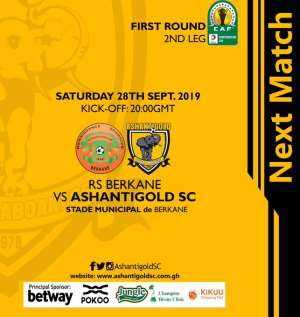 CAF Confederations Cup: Ashgold Clash With RS Bekane In Deciding Fixture Today