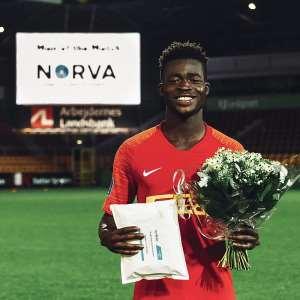 FC Nordsjaelland forward Kamal-Deen Sulemana