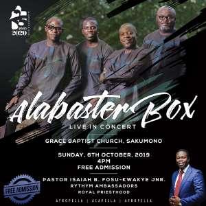 All Set For Alabaster Box Live In Concert