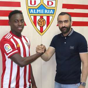 Arvin Appiah Snubs Manchester United, Signs For UD Almeria