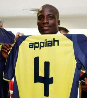 Appiah Delighted With Fenerbache Switch