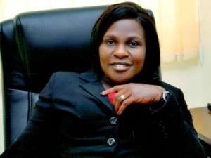 Head of Corporate Affairs for PBC, Mrs Nannet Aryee