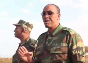 Security minister of Jubaland in Somalia, Abdirashid Hassan Abdinur