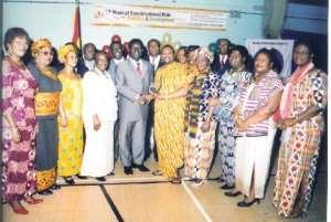 Ghana Nurses Ass. (UK),  Receives Platinum Award