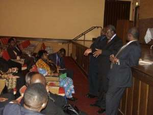 Ghana's Ambassador to the US meets Ghanaians in Chicago