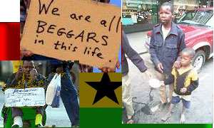 African states addicted to refined beggary - Nana Nketsia