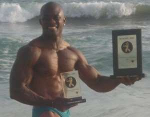 Image of the day : Body builder of the week – Abotsi Felix
