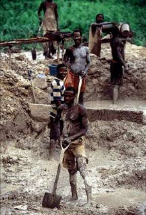 Illegal mining a threat in Ghana