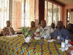 Ghanaians In Sierra Leone Presents $3000 For Operations Six Points'