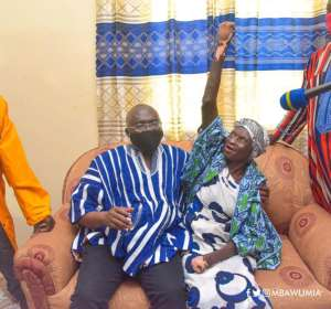 Bawumia Fulfills Promise, Hands Over House To 82-year-Old Abandoned Cured Leper