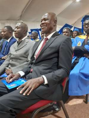Former GES Director-General Jacob Kor Grabs Doctorate Degree
