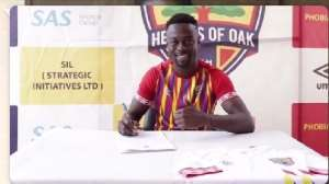 Hearts of Oak new signing Emmanuel Mintah