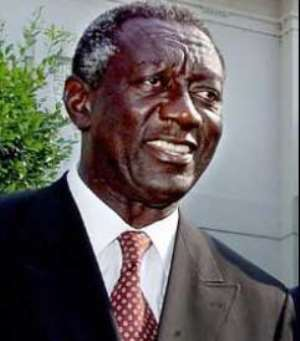 President Kufuor Arrives In London...