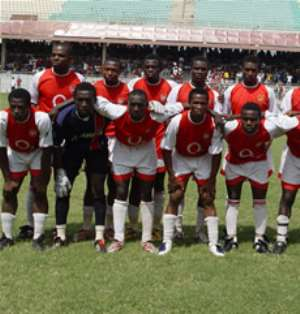 Gunners too hot for Tema Youth