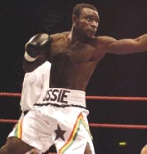 Ghana's Ossie in fight to the finish