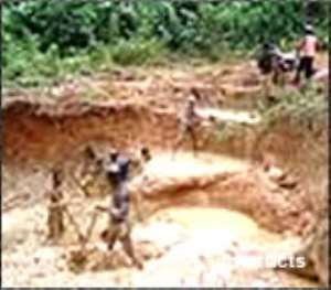 Nine galamsey operators dead