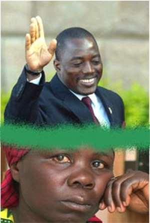 Jovial Kabila Leading Distraught Congolese