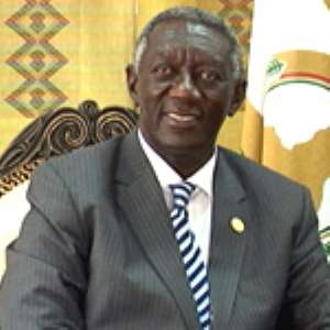 Kufuor Advises Party Gurus