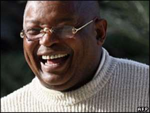 Ex-minister barred for ANC threat
