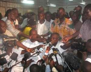 Atta Mills predicts victory for NDC