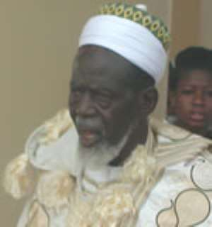 Chief Imam apologises for NDC, NPP confrontation