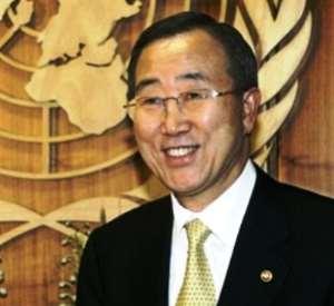 UN Secretary-General Ban Ki-Moon To Visit West Africa