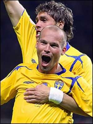 Sweden 1-0 Paraguay