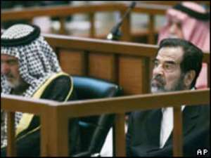 Prosecutors have called for Saddam Hussein's execution