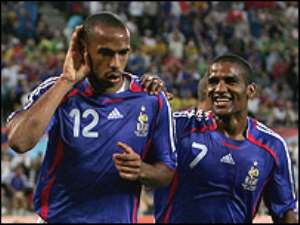 Henry's second-half strike made the game safe for France