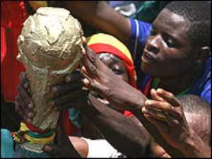 Ghana's first World Cup has lifted spirits back home