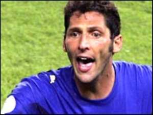 Materazzi scored Italy's first-half equaliser in the final