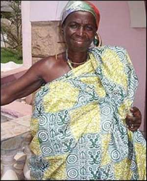 Nana Akua Ageiwaah is an Ashanti queen mother and a Catholic