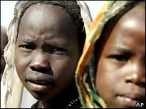 About 2.5 million people in Darfur have been made homeless