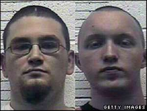 Paul Schlesselman, left, and Daniel Cowart said they planned to kill more than 100 African-Americans.
